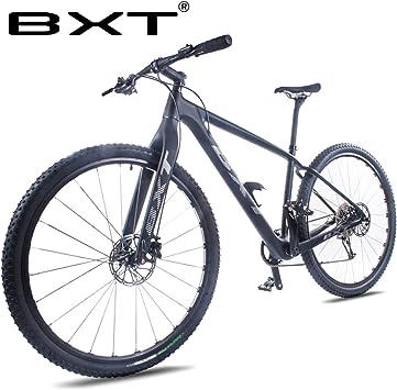 BXT Bicicleta de montaña Carbono, 29er, Doble Disco, 111 ...