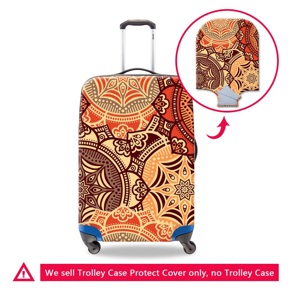 CreativeBags Washable Spandex Trip Luggage Cover Fit 18-30 Inch Suitcase