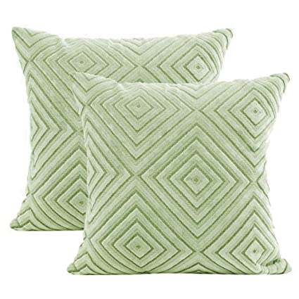 Decorator Cushion Cover 45x45cm Love Stitched Soft Touch Home Decor Throw Pillow