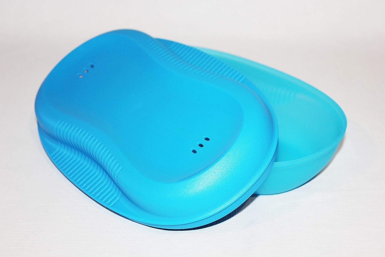 Tupperware Microondas Desayuno eléctrica Azure: Amazon.es: Hogar