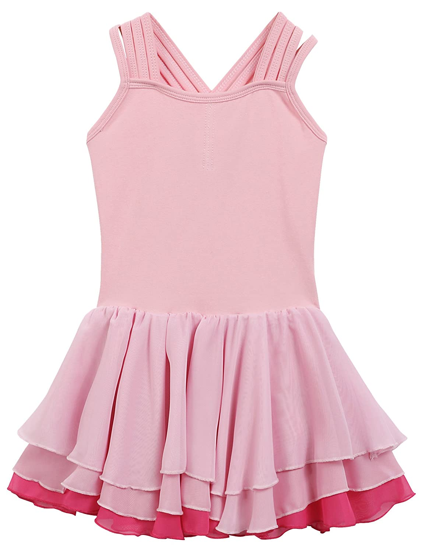 Arshiner Kids Girls' Tank Camisole Leotard Dance Ballet Tutu Dress ASS005089