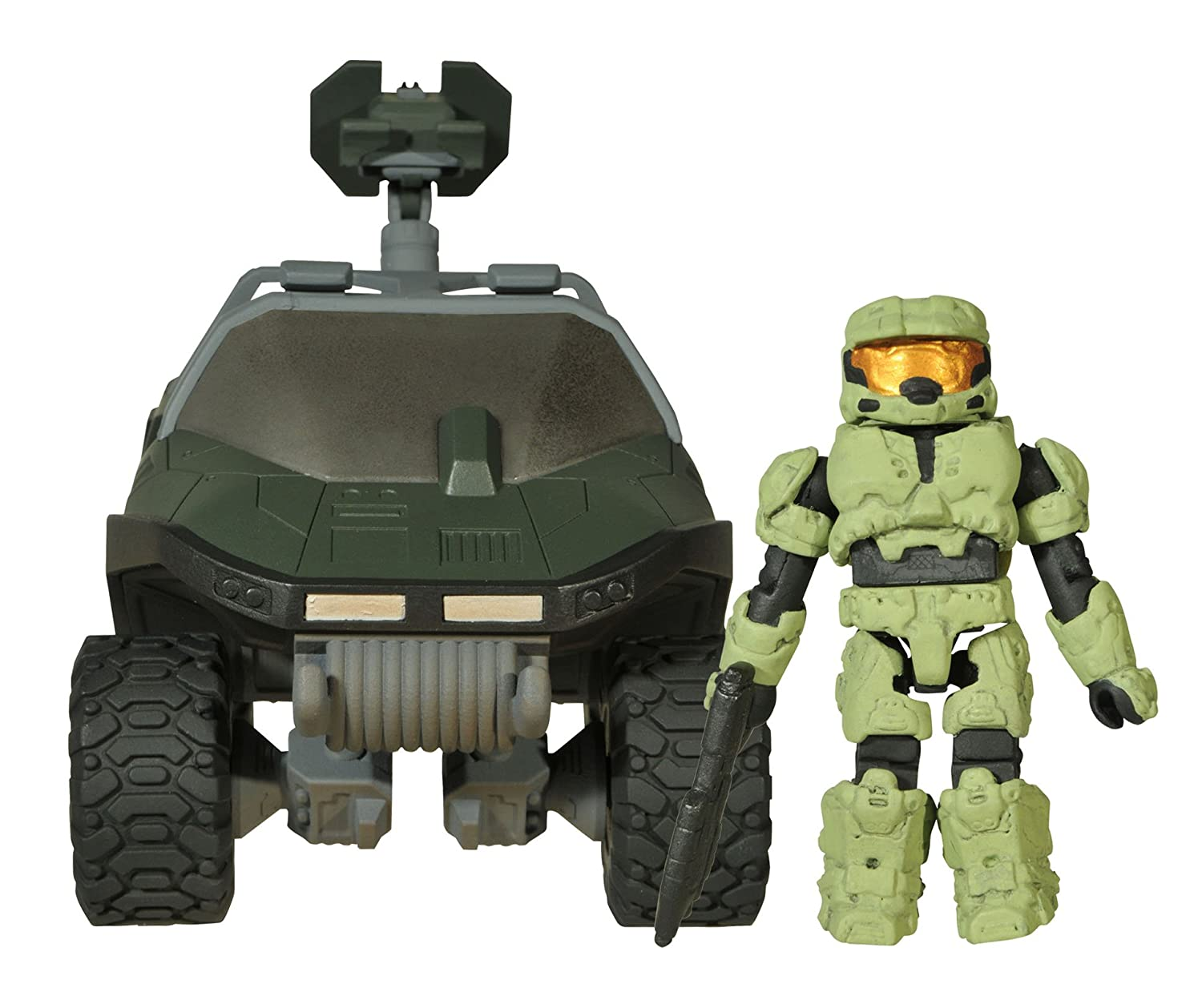 Halo Series 2 Warthog with Missile Cannon Vehicle