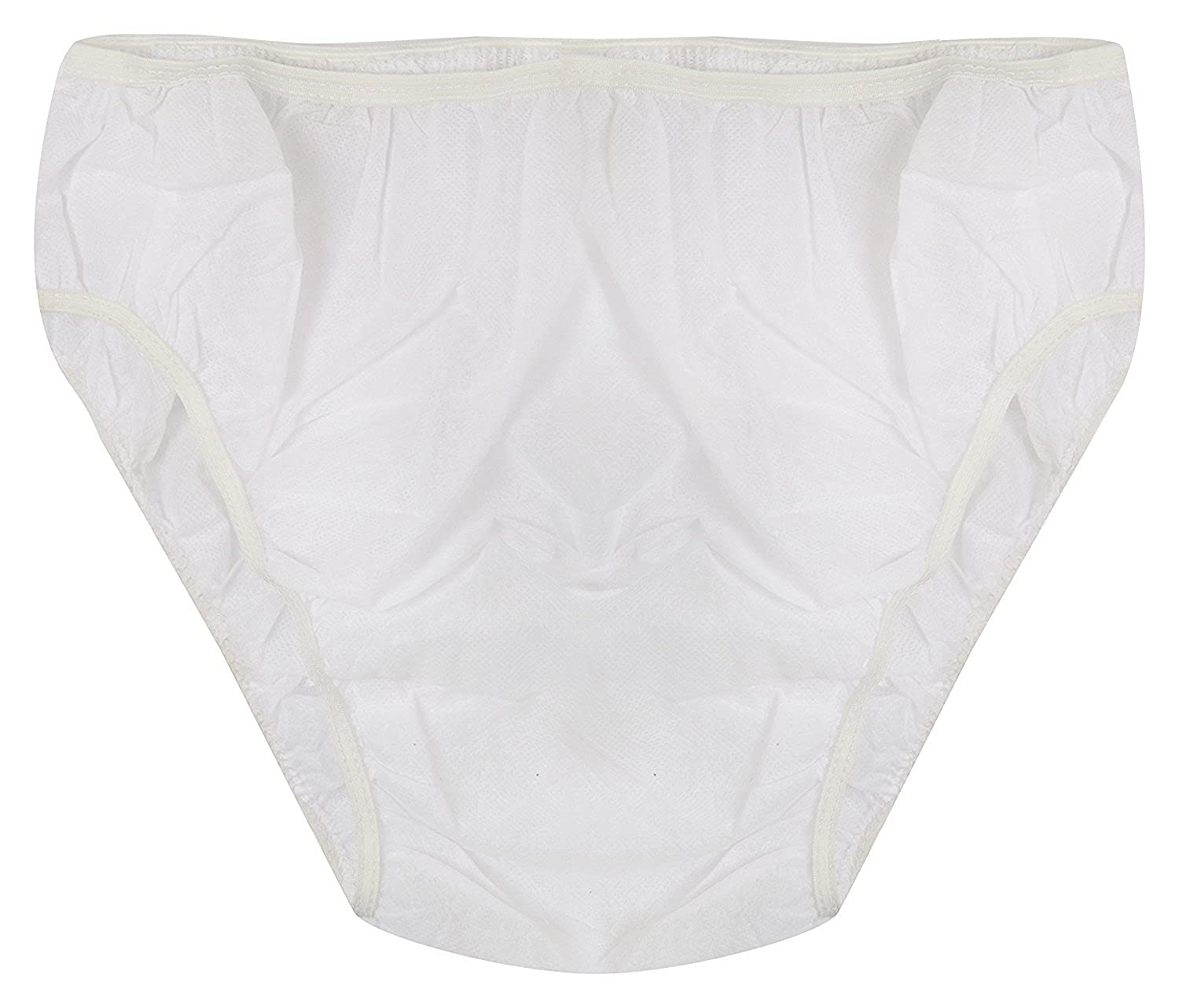 cfe1548cc9e8 ASHWA GROUP Non Woven White Disposable Women 2-Ply Panty - Pack of 20  Panties: Amazon.in: Clothing & Accessories