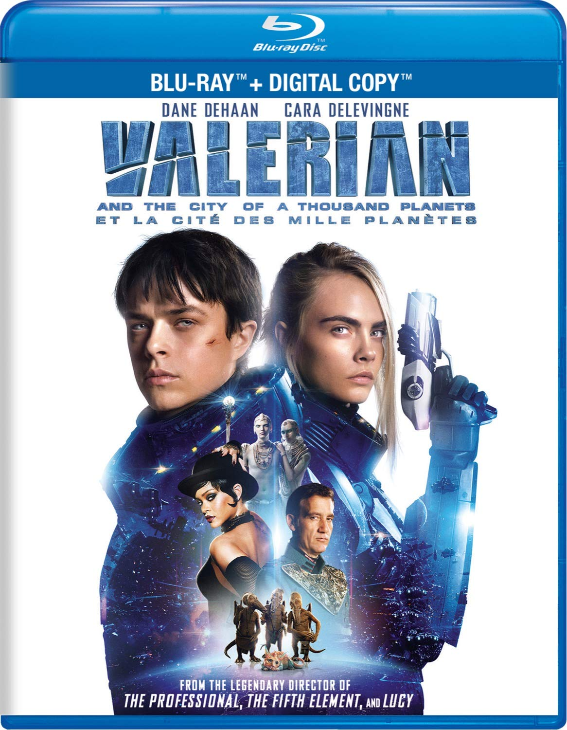 Amazon Com Valerian And The City Of A Thousand Planets Dane Dehaan Cara Delevingne Clive Owen Rihanna Ethan Hawke Luc Besson Movies Tv
