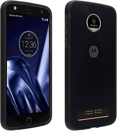 Verizon OEM - Carcasa de Dos Tonos para Motorola Moto Z Play Droid, Color Negro y Gris: Amazon.es: Electrónica