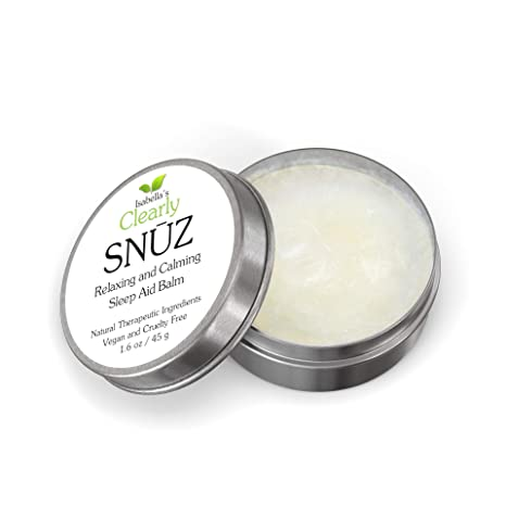 Isabellas Clearly SNŪZ Sleep Aid Balm, 100% Effective Natural ...