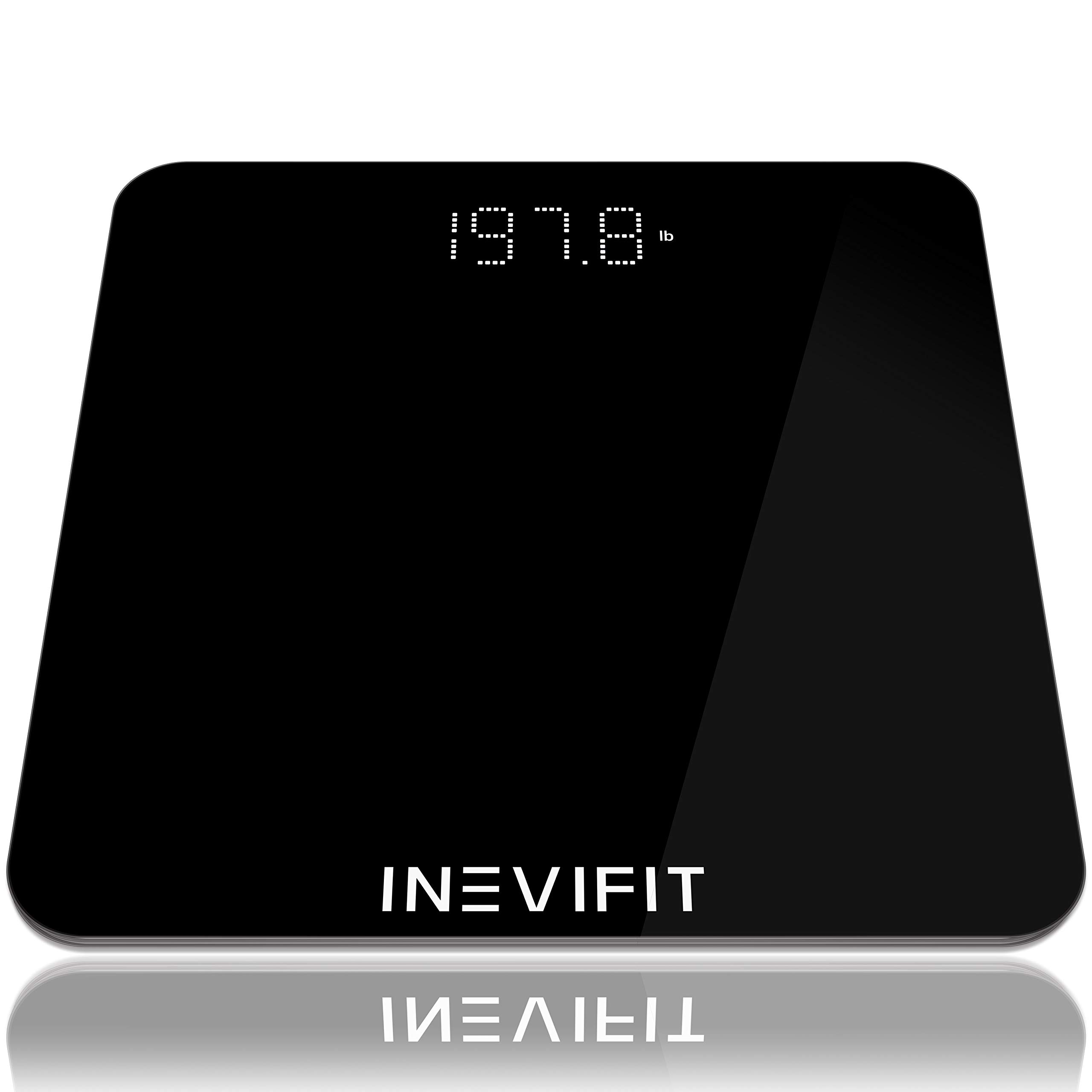 INEVIFIT Bathroom Scale, Highly Accurate Digital Bathroom Body Scale, Measures Weight for Multiple Users. by INEVIFIT