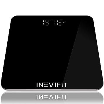 Amazon.com: INEVIFIT Báscula de baño, báscula digital de ...