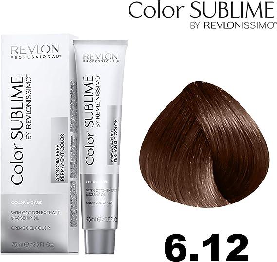 Revlonissimo Color sublime 75 ml, Color 6.12: Amazon.es ...