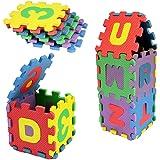 Murieo 36PCS Baby-Kinder alphanumerische Puzzlespiel-Schaum-Matten Schaumstoffmattenblöcke Spielzeug-Geschenk, Schaumstoffmatten Spielzeug,Jedes Stück 3 x3 cm