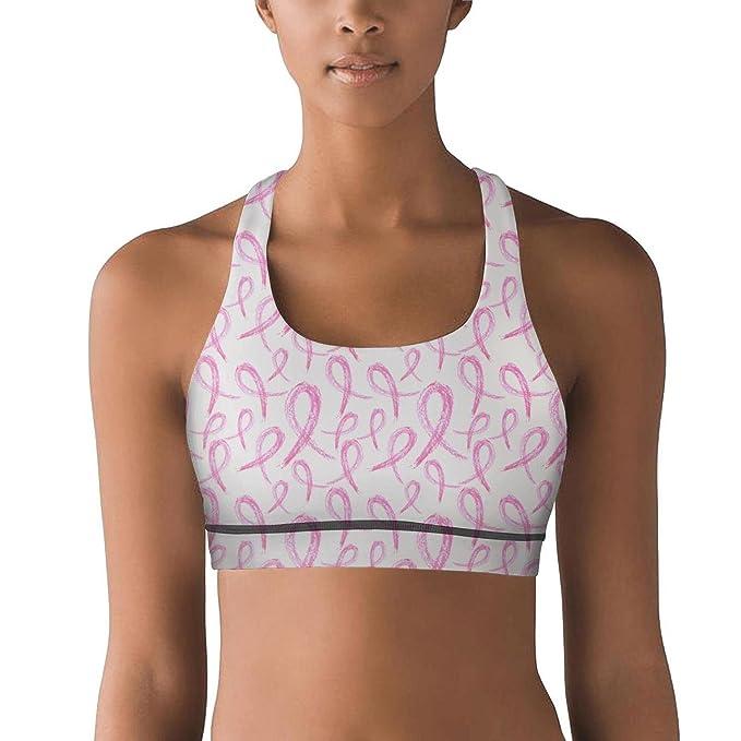 Amazon.com: Armsttm - Sujetador de yoga para mujer, con ...
