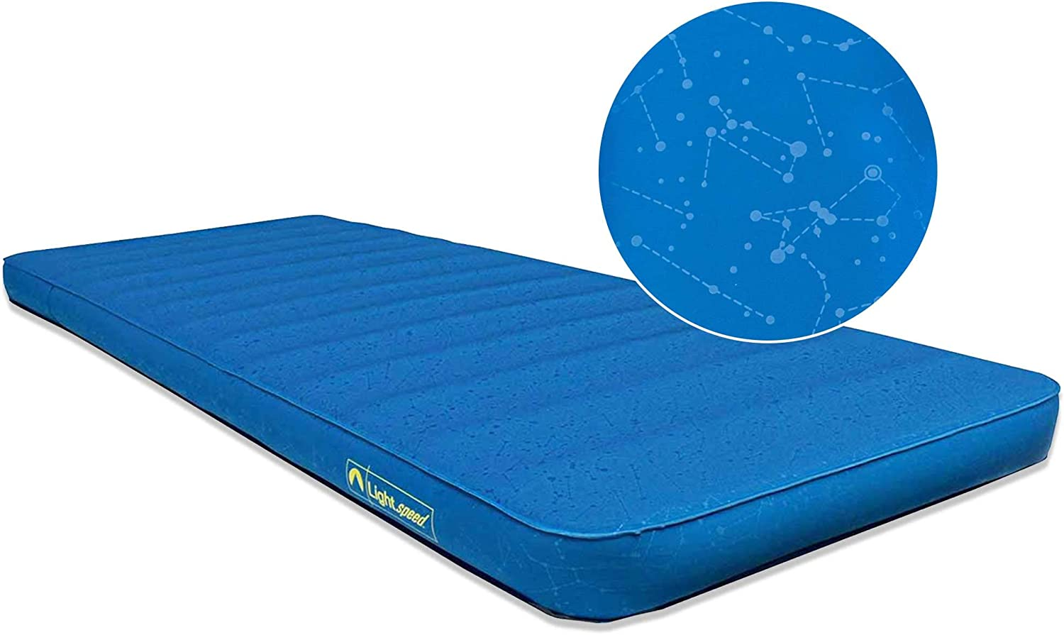 Lightspeed Outdoors XL Super Plush FlexForm Premium Self-Inflating Insulated Sleep and Camp Foam Pad