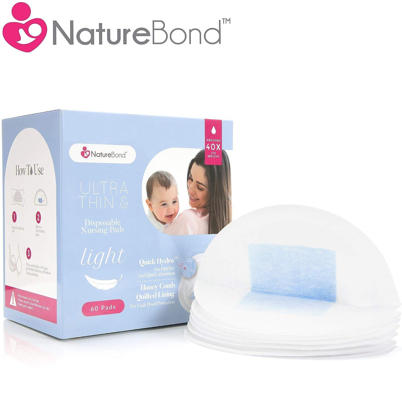 100Pcs Disposable Nursing Pads Soft /& Super Absorbent Leak-proof Breast Pads