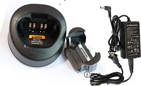 BLVL NTN8831 Rapid Charger with Power Supply for Motorola XTS5000 XTS4250 XTS3500 XTS3000 XTS2500 XTS2250 MTX9000 HT1000 APX8000 APX7000 APX6000 Protable Radios