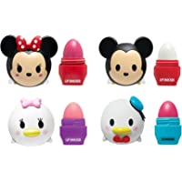 Lip Smacker Disney Tsum Tsum Lip Balm, Mickey/Minnie/Donald/Daisy, 4 Count