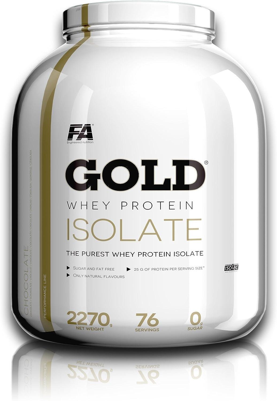 Gold Whey Protein Isolate 2.27 Kg Fresa-plátano: Amazon.es ...