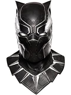 Rubies Costume Co. Mens Captain America: Civil War Black Panther Overhead Latex Mask