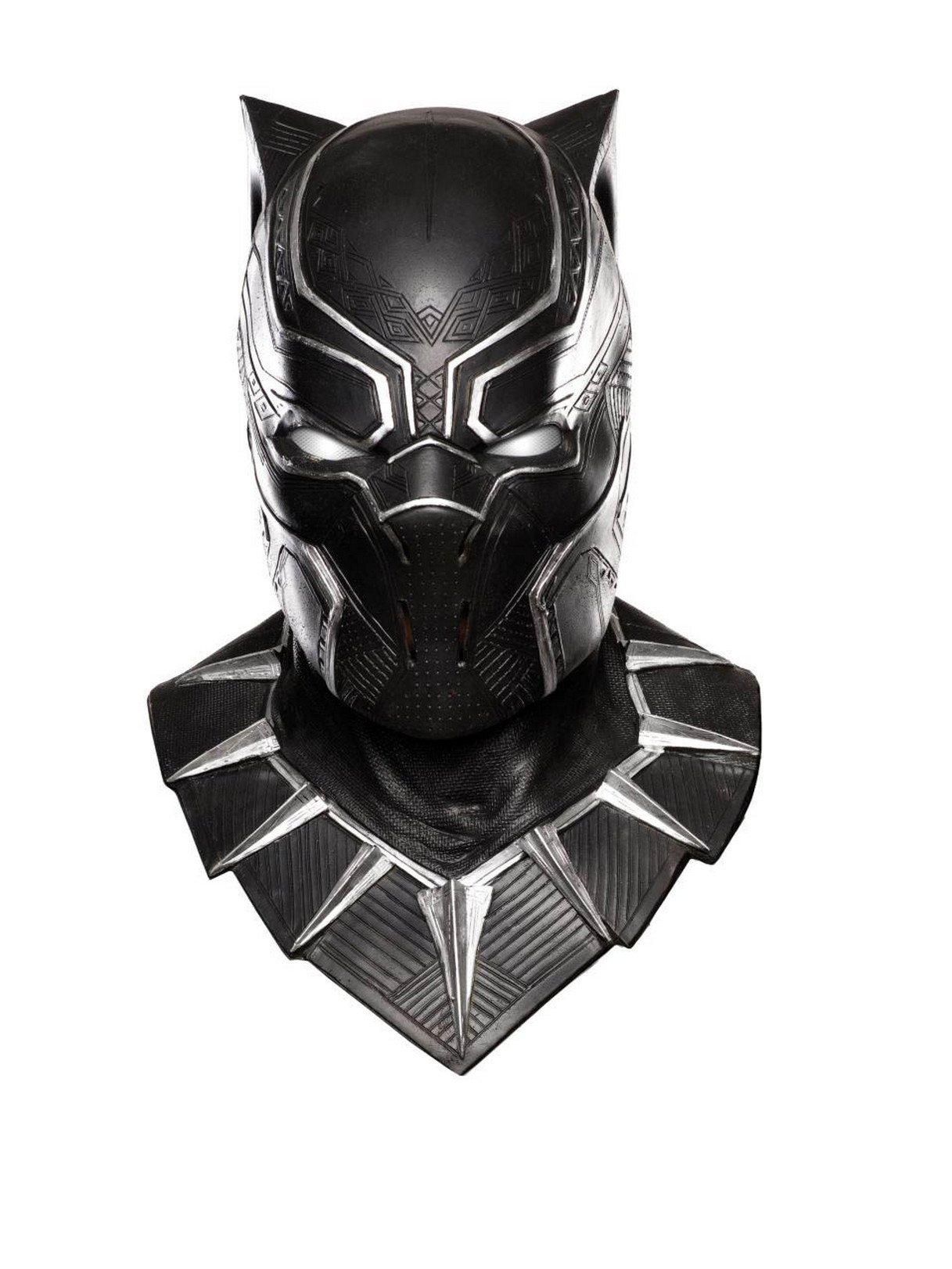 Rubie's Costume Co Captain America: Civil War Panther Overhead Latex Mask, Black, One Size by Rubie's Costume Co