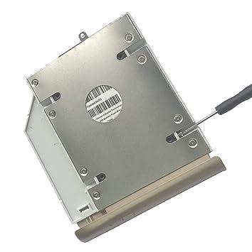 Ultracaddy 2º HDD SSD Disco Duro Caddy para HP Pavilion 15-AU ...