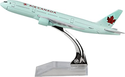 AIR CANADA AIRWAYS BOEING PLANE DIECAST METAL MODEL