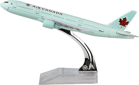 AIR CANADA BOEING 777 Passenger Airplane Plane Aircraft Metal Diecast Model C
