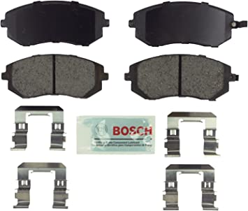 Disc Brake Pad Set-Quietcast Pads with Hardware Front Bosch BP929