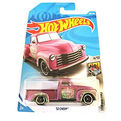 Hot Wheels 2020 50th Anniversary HW Metro '52 Chevy 207/365, Pink: Toys & Games
