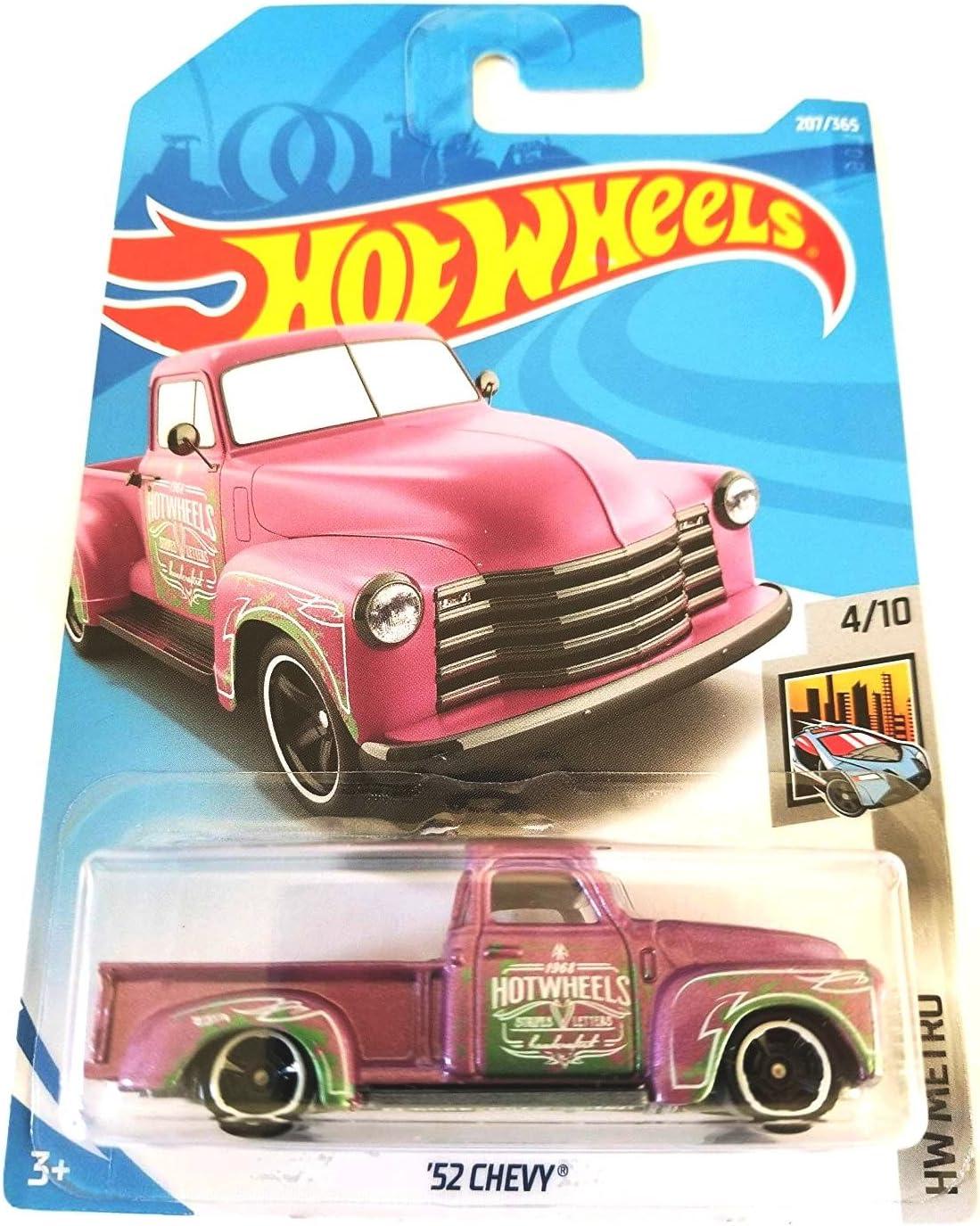 Hot Wheels 2018 50th Anniversary HW Metro '52 Chevy 207/365, Pink