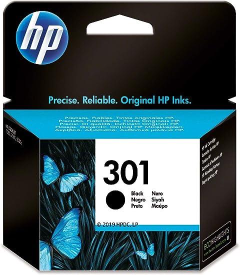 Oferta amazon: HP 301 CH561EE, Cartucho Original de Tinta Negro , compatible con impresoras de inyección de tinta HP DeskJet 1050, 2540,3050; OfficeJet 2620, 4630; ENVY 4500, 5530