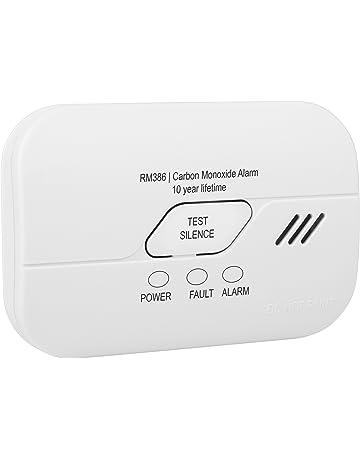 Smartwares FGA-13010 - RM386 - Detector de monóxido de carbono, funciona con pilas