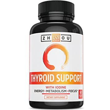 Apoyo la tiroides con yodo complejos de energía, Pérdida de peso, y la reducción