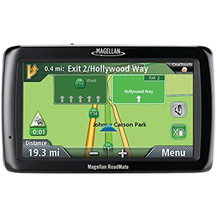 Amazoncom Magellan RoadMate LM Inch Widescreen Portable - Gps amazon com