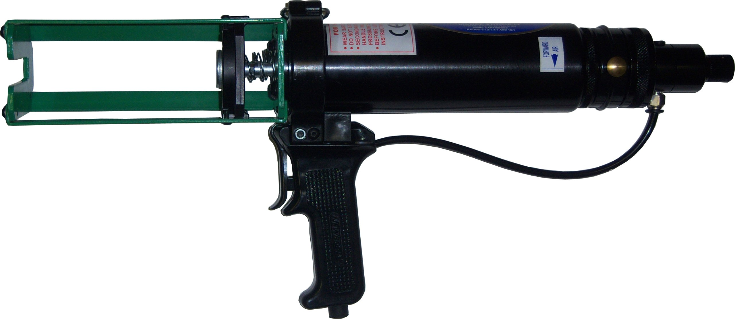 Newborn VR200A83 Dual-Component Variable Ratio Pneumatic Applicator, for 200 mL Cartridges, 100 psi