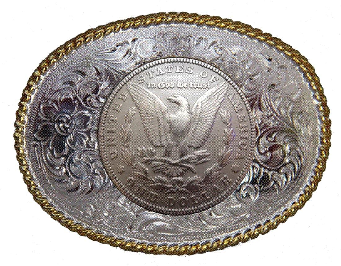 Amazon Genuine Texas Brand Morgan Silver Dollar Concho