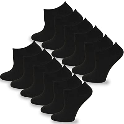 TeeHee Fashion No Show/Low Cut Fun Socks 12 Pair Pack at Men's Clothing store