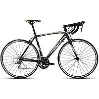 Montra Celtic 2.1 Road Bike, Adult Medium/Large (Matt Black/Green)