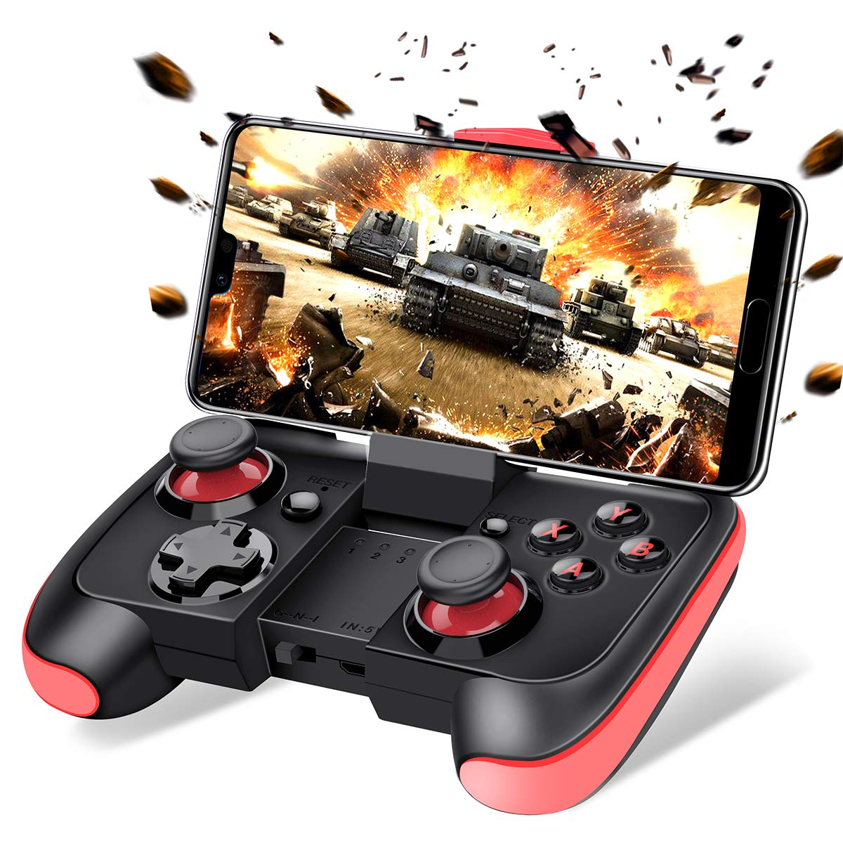 Joystick inalambrico para Android Iphone, Beboncool (xmp)