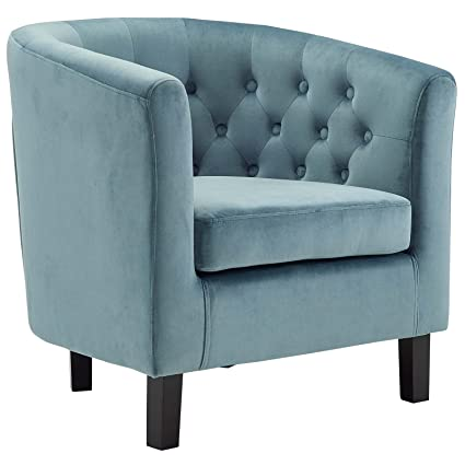 Genial Modway EEI 2613 SEA Prospect Upholstered Velvet Contemporary Modern Accent  Arm Chair Sea