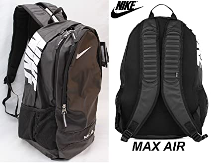 cbf4d8ef1b Image Unavailable. Image not available for. Color  New Nike MAX AIR TEAM  TRAINING LARGE Laptop School Gym Water-Resistant BACKPACK