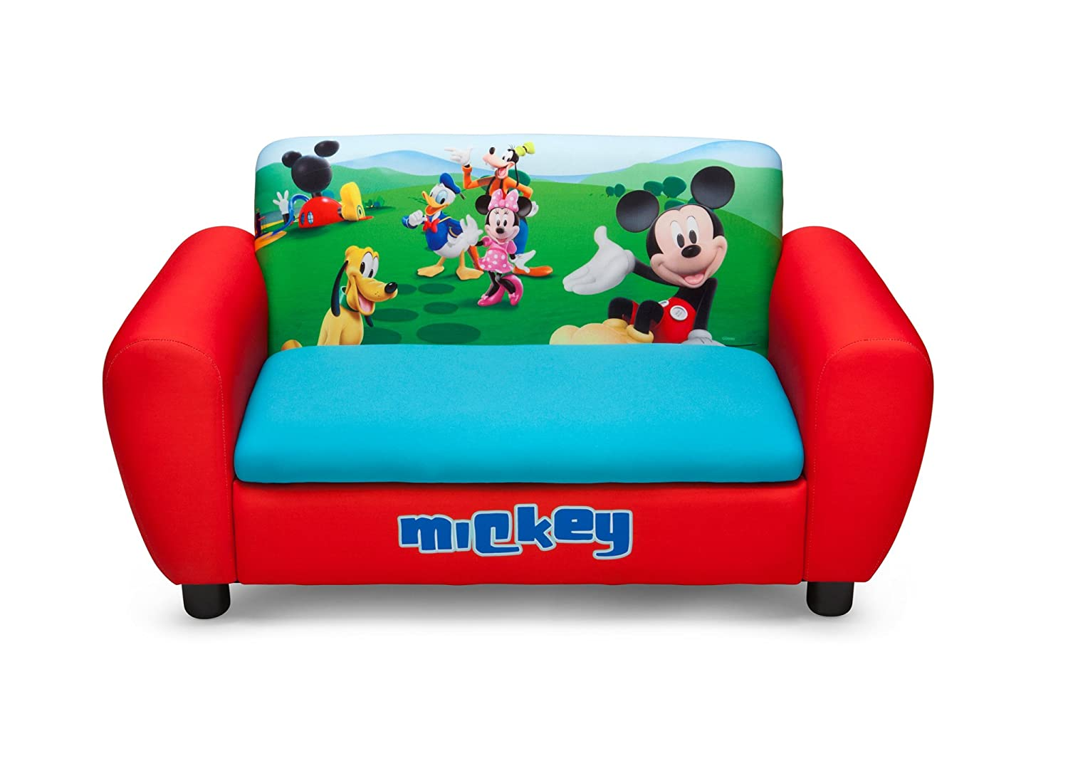 Bon Amazon.com: Delta Childrenu0027s Products Mickey Mouse Upholstered Sofa: Toys U0026  Games