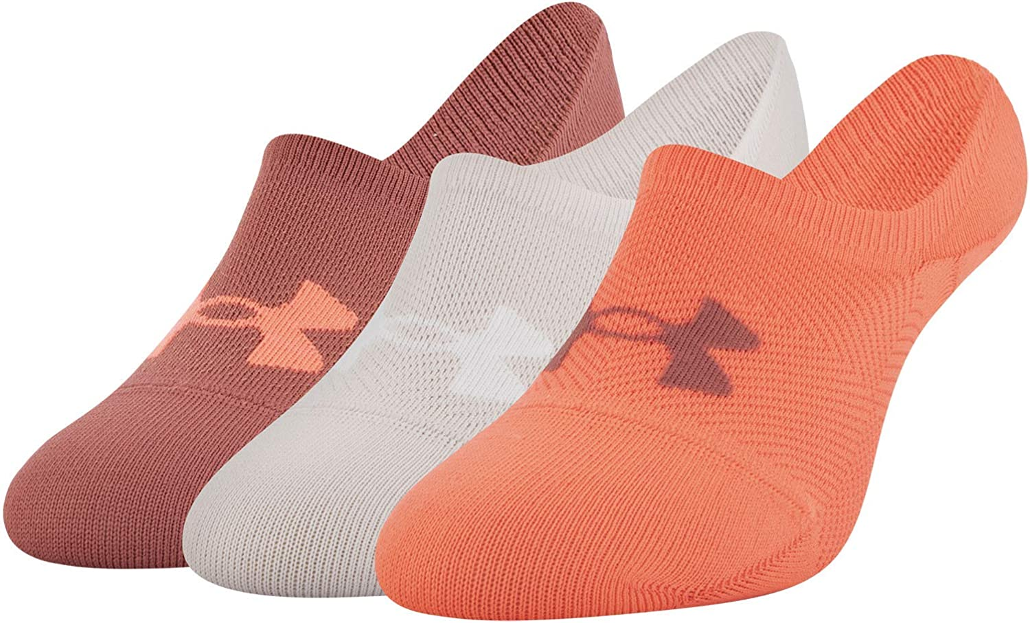 Under Armour Essential Ultra Lo Socks, 3-Pair