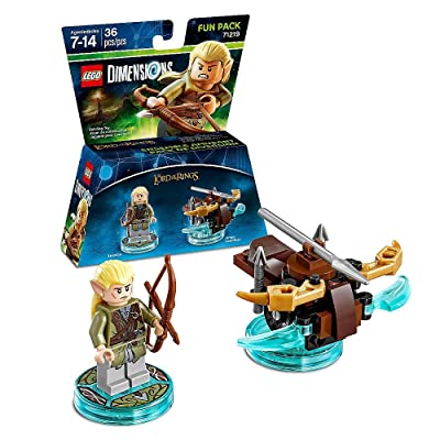 Lego Dimensions Building Toy Pack (Lord of the Rings Legolas 71219): Toys & Games