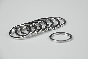 Llavero plano todo en uno, anilla de metal dividida para ...