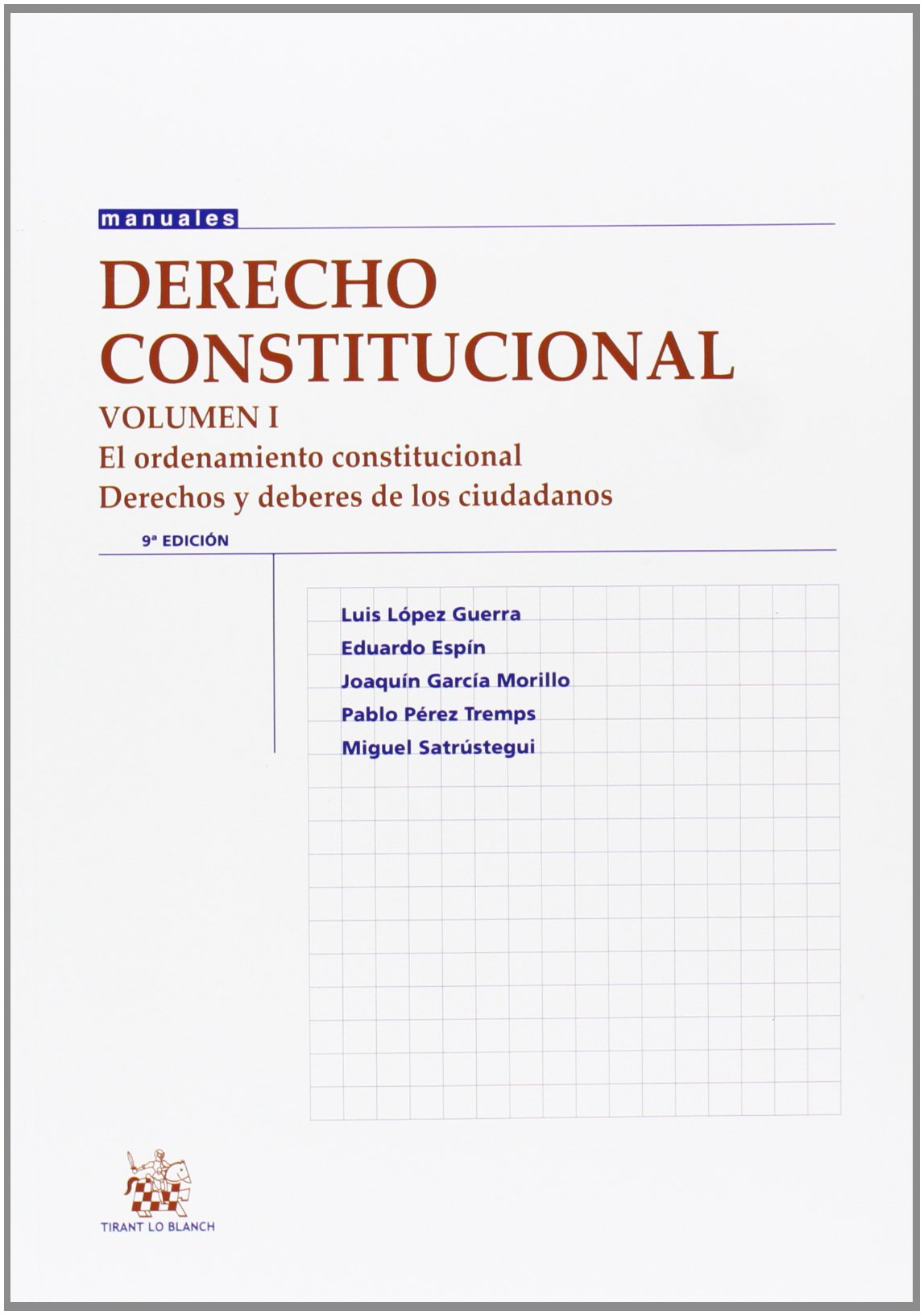 Download Derecho Constitucional. Vol I pdf