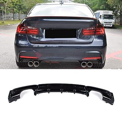 2006-2013 BMW 3 Series E92 335i M-Tech Sports Bumper Carbon Fiber Diffuser