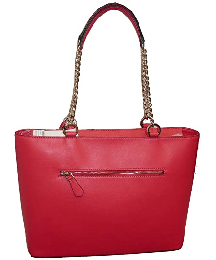 Guess landon girlfriend satchel borsa a mano donna amazon shoes rosso a mano