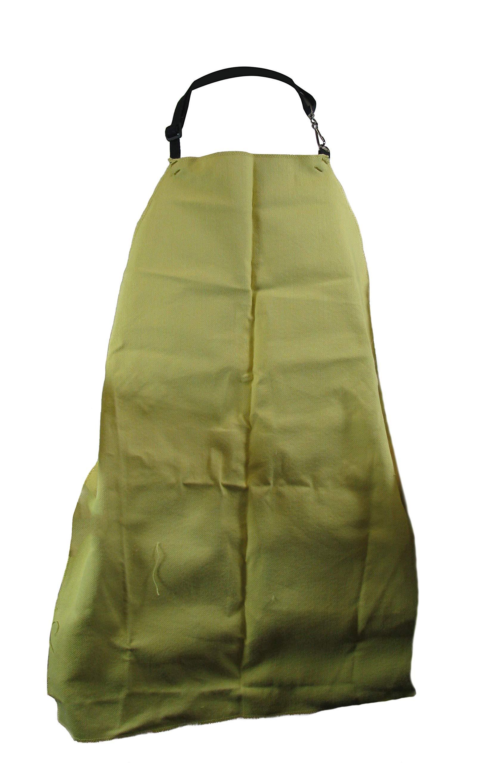 Magid Glove & Safety KEV24X30 Woven Kevlar Bib Apron, 24'' x 30'', Yellow