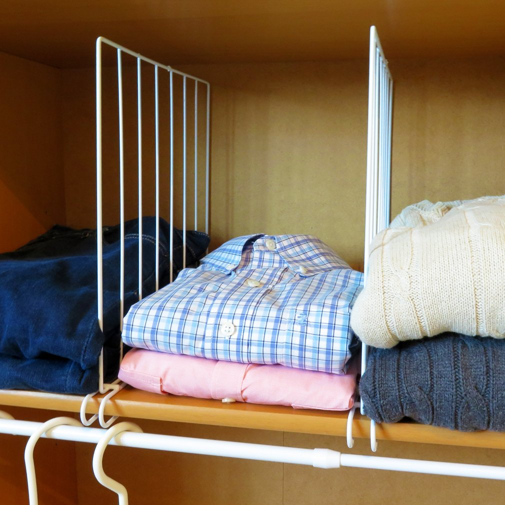 Closet Shelf Divider Loose Clothes Organizer
