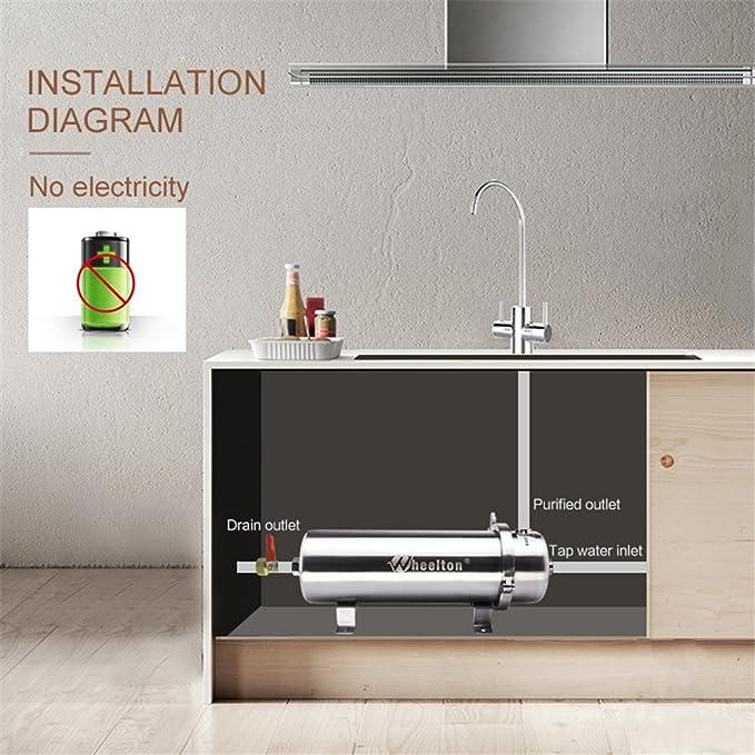 Wheelton PVDF Ultrafiltration purificador de agua para toda la ...