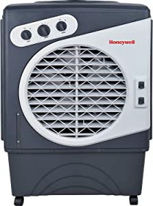 Honeywell Indoor Outdoor 125 Pint Portable Evaporative Air Coolerwith 3 Speeds and Powerful Air Flow